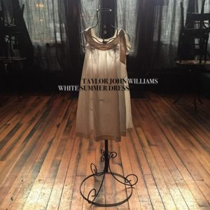 White summer dress taylor john williams